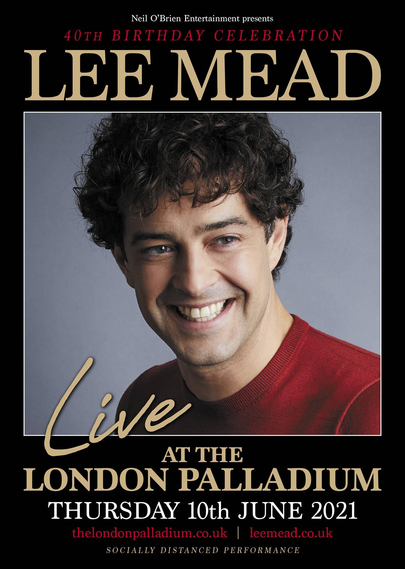 The London Palladium Poster