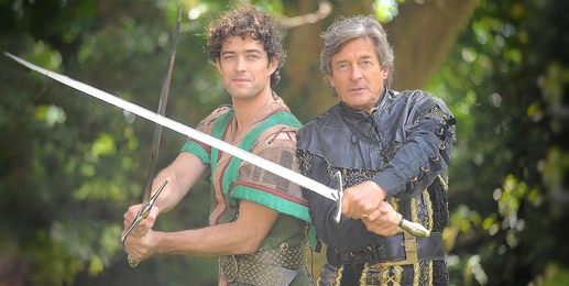 Lee Mead saddles up as Robin Hood for Theatre Royal Plymouth panto